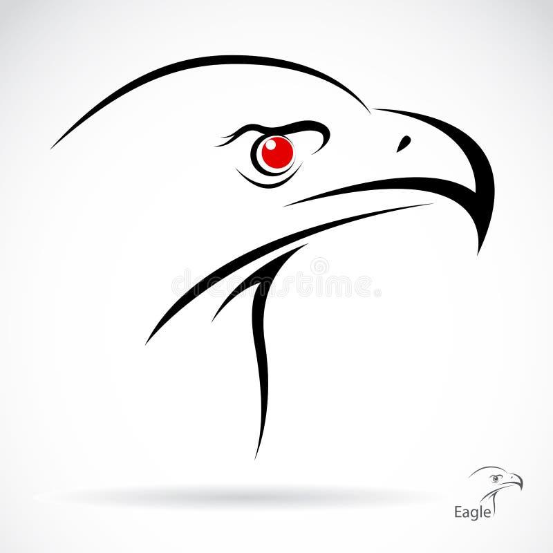 老鹰的头 向量例证