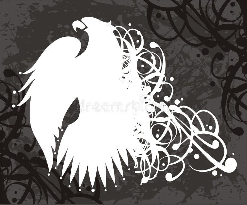 老鹰符号向量 皇族释放例证