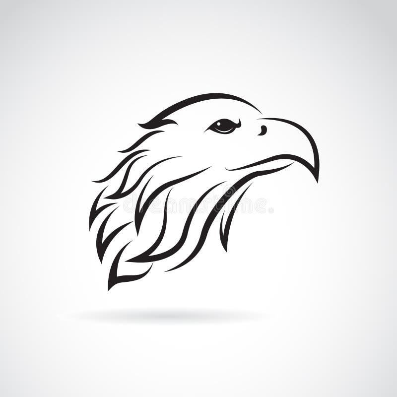 老鹰头的传染媒介图象 向量例证