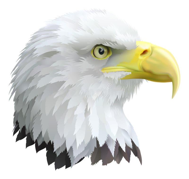 老鹰 皇族释放例证