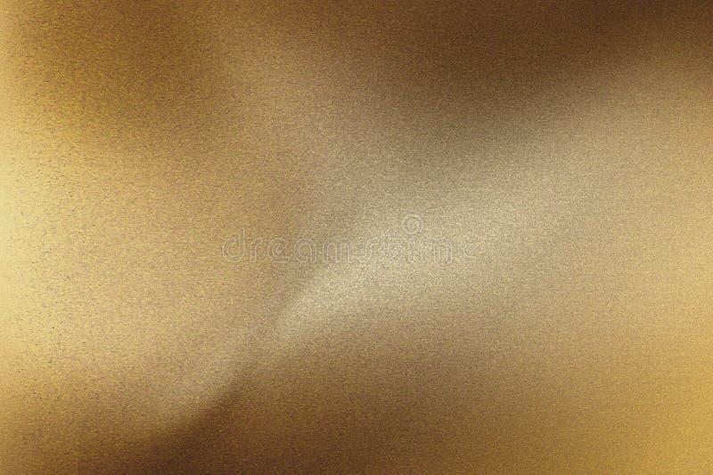 老黑褐色波浪金属板材,抽象纹理背景 向量例证