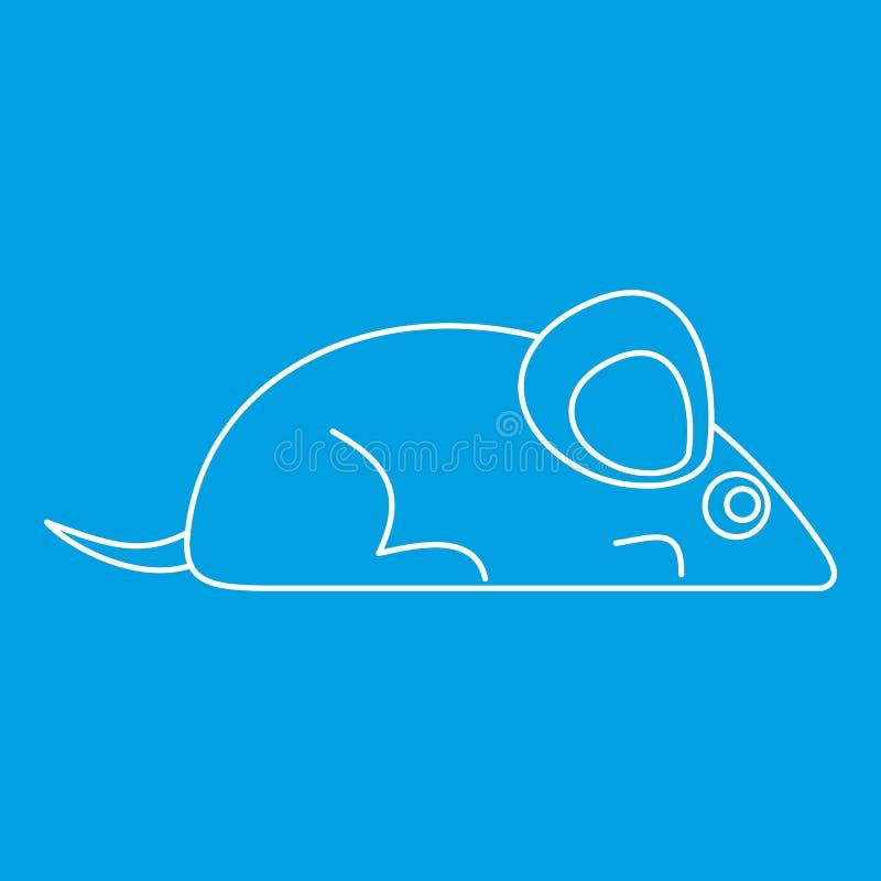 老鼠象,概述样式 向量例证