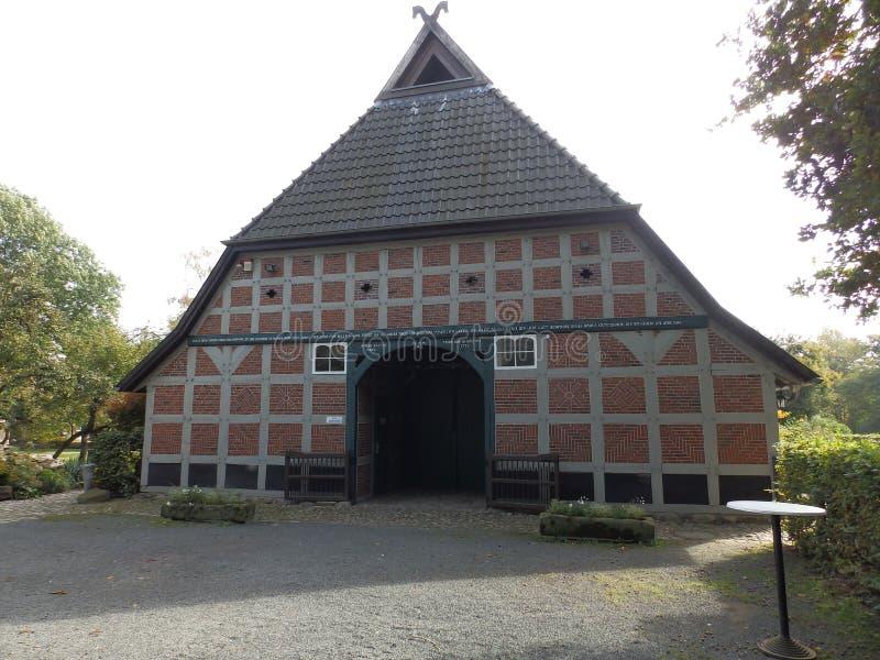 老,历史的农舍在德国3 库存照片