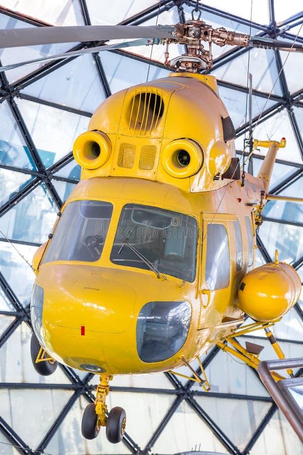 老直升机 库存图片