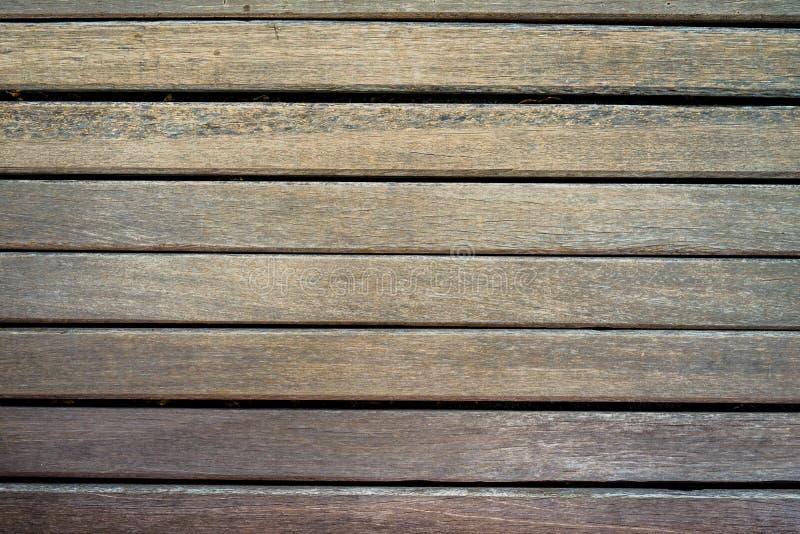 老黑暗的木头 免版税库存照片