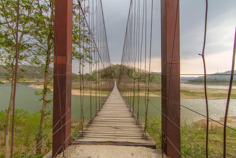 老索桥 库存图片