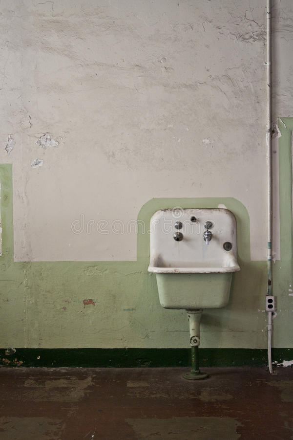 老水槽 免版税图库摄影