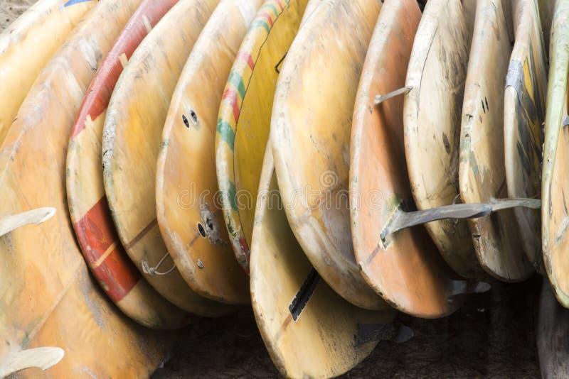 老水橇板 免版税库存照片
