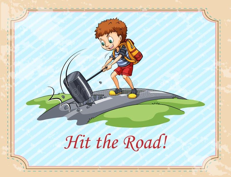 Download 老说法出发了 向量例证. 插画 包括有 文本, 表达式, 例证, 旅行, 图画, 击中, 表示, 人员, 行程 - 59107921