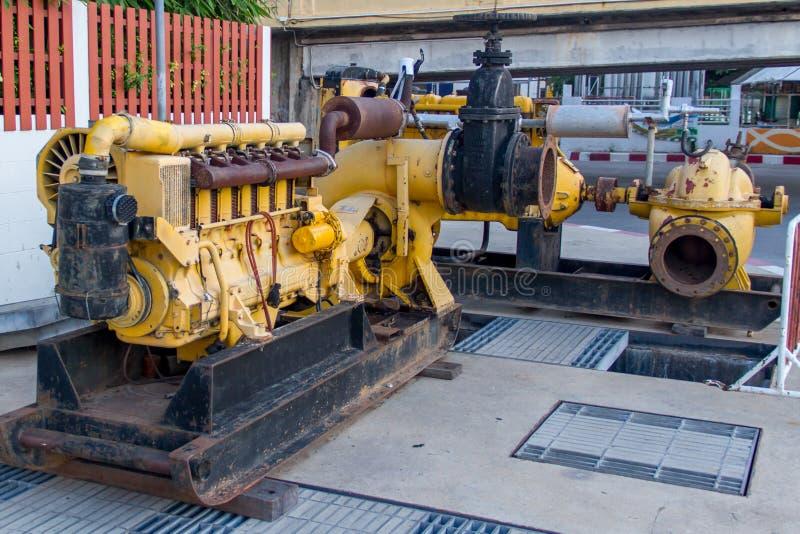 老水泵机器 库存图片