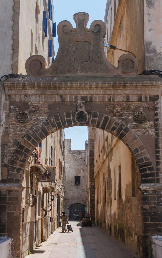 老建筑学在市索维拉 免版税库存图片