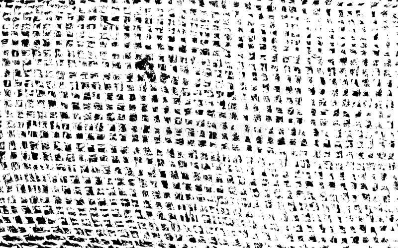 老麻袋布困厄的破裂的覆盖物纹理  皇族释放例证