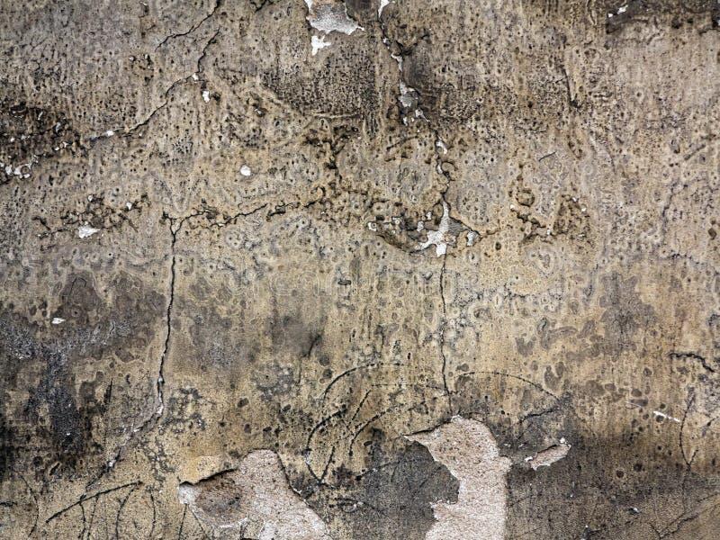 老破裂和被腐蚀的膏药 免版税库存图片
