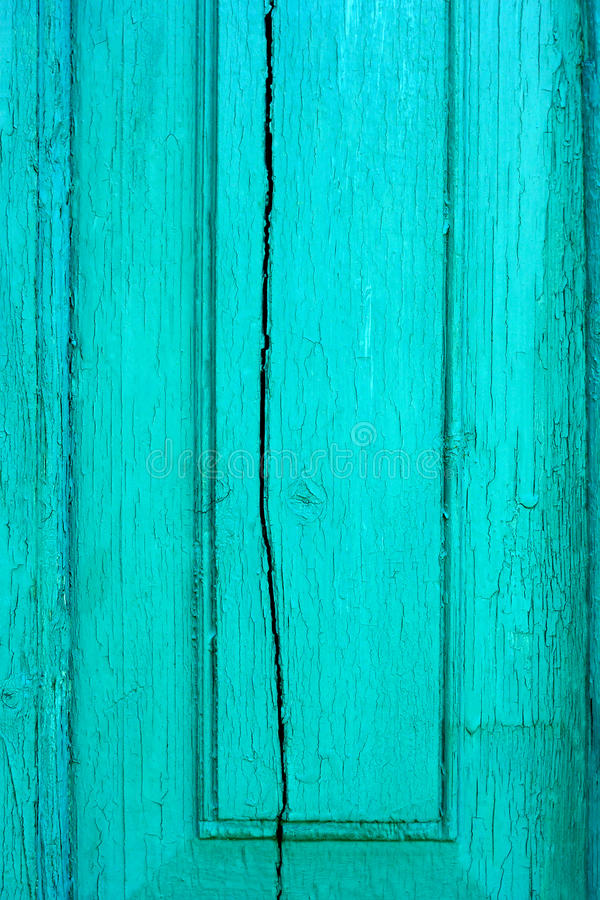 老破裂的木绿松石板 库存图片