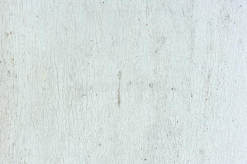 老破裂的浅灰色的木纹理 免版税库存照片