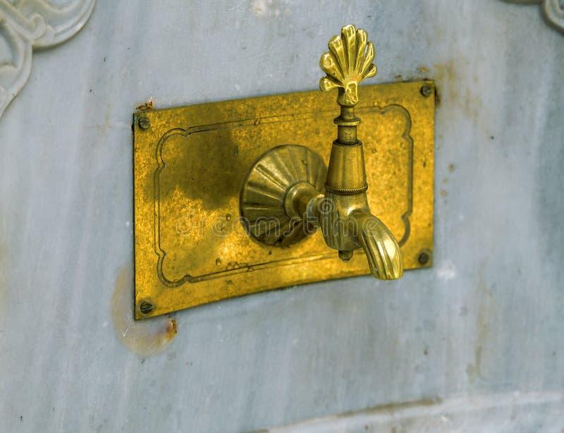 老水龙头,伊斯坦布尔,土耳其 库存照片