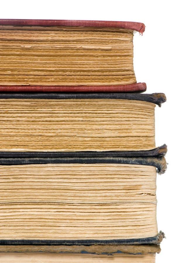 老4本书 免版税库存图片