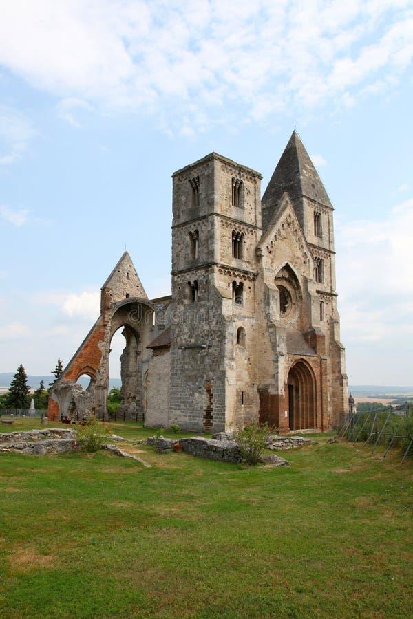 老churchs废墟 库存图片