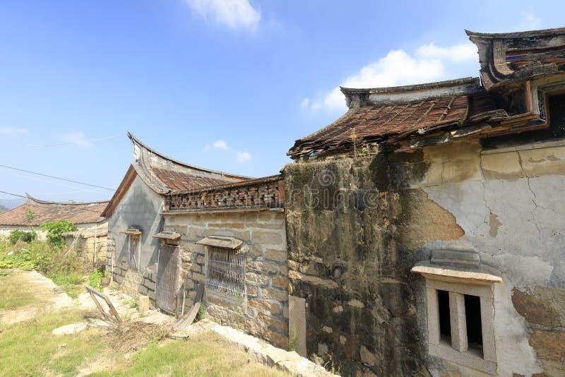 老murai在zhaojiabao村庄,多孔黏土rgb 免版税库存照片