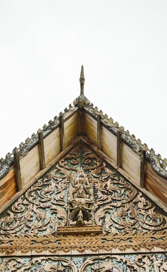 老Preng鼠二赖子Roong寺庙 免版税库存照片