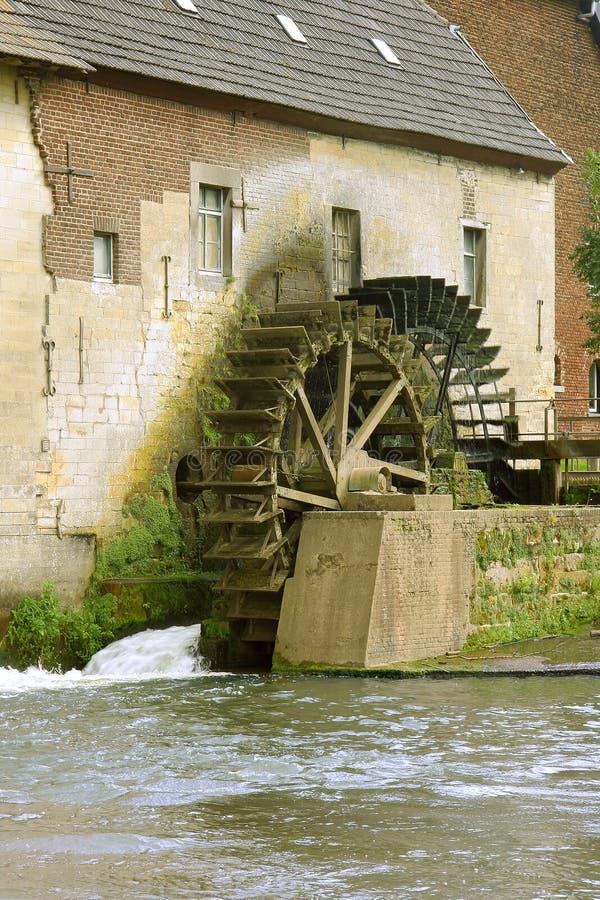 老watermill 免版税库存图片