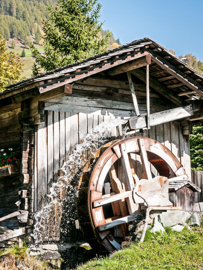 老watermill 库存照片