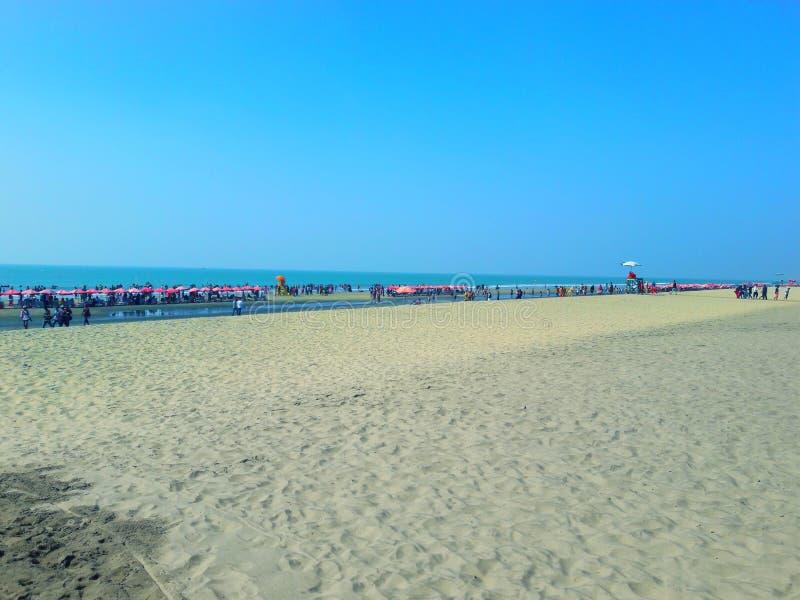 考克斯, s市场海海滩 免版税库存照片