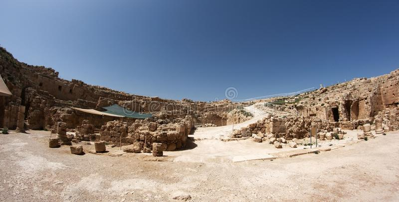 考古学以色列 免版税库存图片