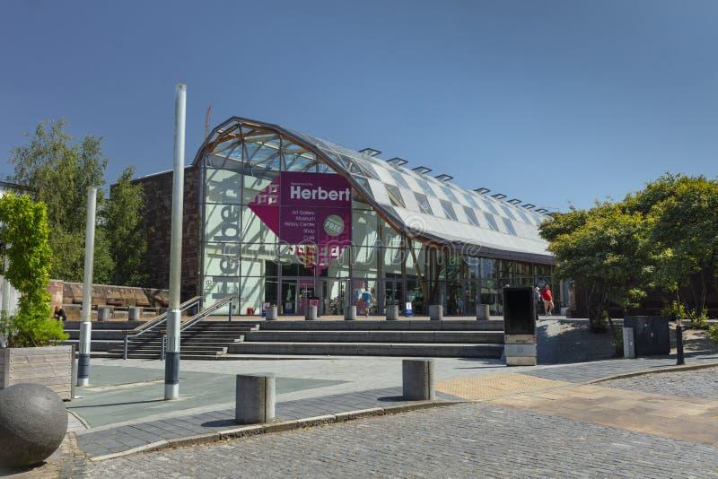 考文垂、沃里克郡、英国、2019年6月27日,赫伯特美术馆和博物馆 库存照片