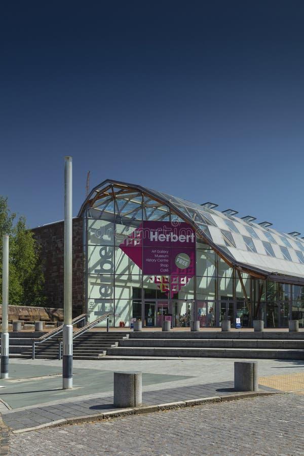 考文垂、沃里克郡、英国、2019年6月27日,赫伯特美术馆和博物馆 免版税库存照片