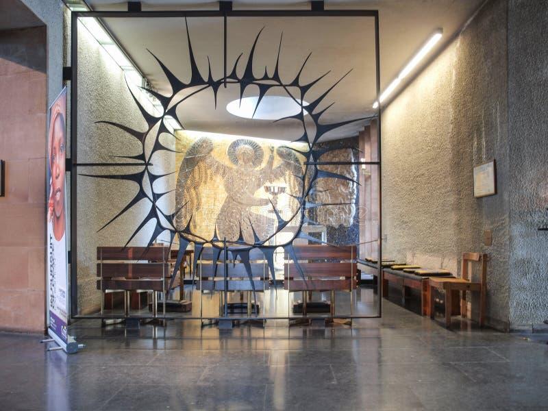 考文垂大教堂在考文垂 免版税库存照片