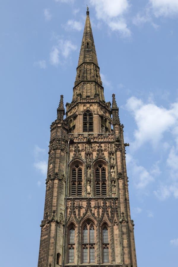 考文垂大教堂在英国 库存照片