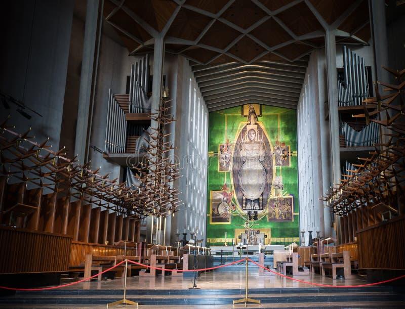 考文垂大教堂 库存照片