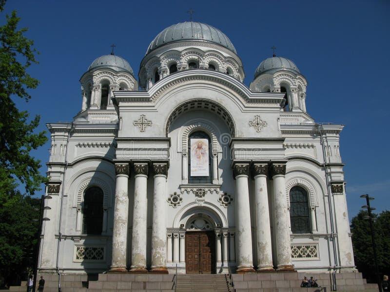 考纳斯立陶宛 免版税库存图片