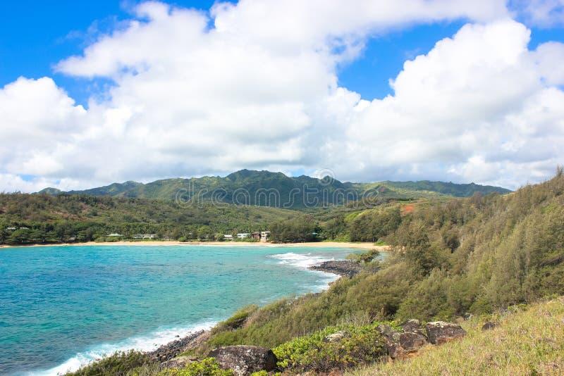 考艾岛海岸  免版税库存图片