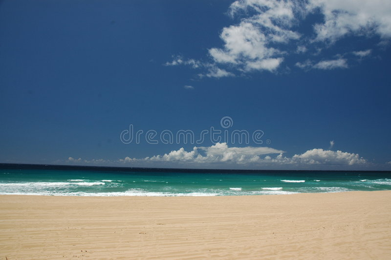 考艾岛海景 免版税图库摄影