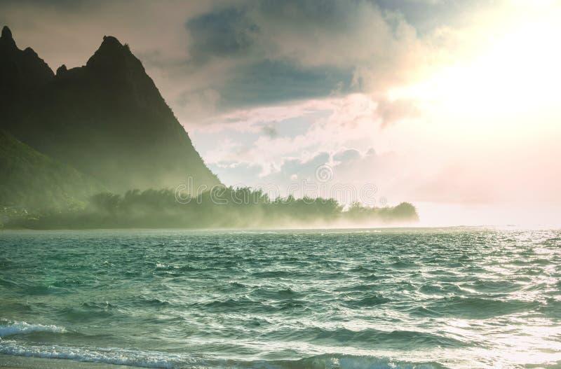 考艾岛 免版税库存图片