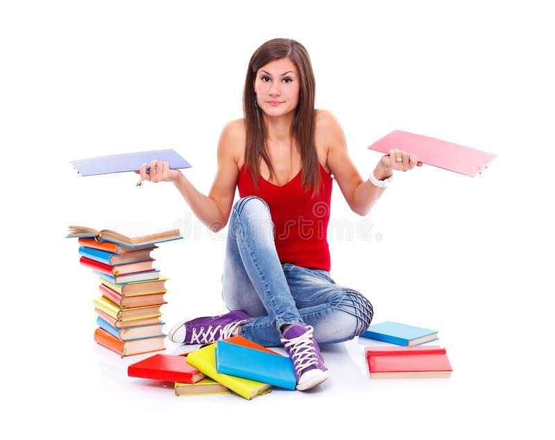 考虑学生 免版税库存照片