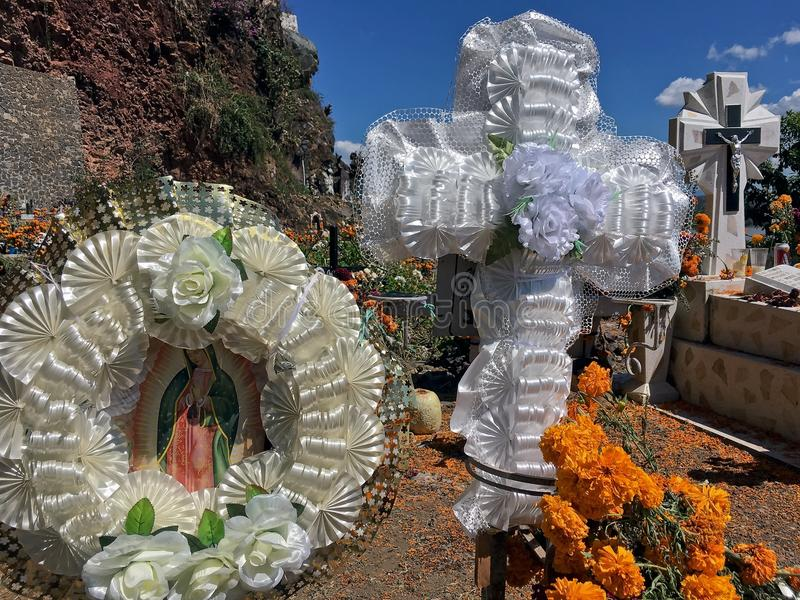 死者的天在墨西哥 免版税图库摄影