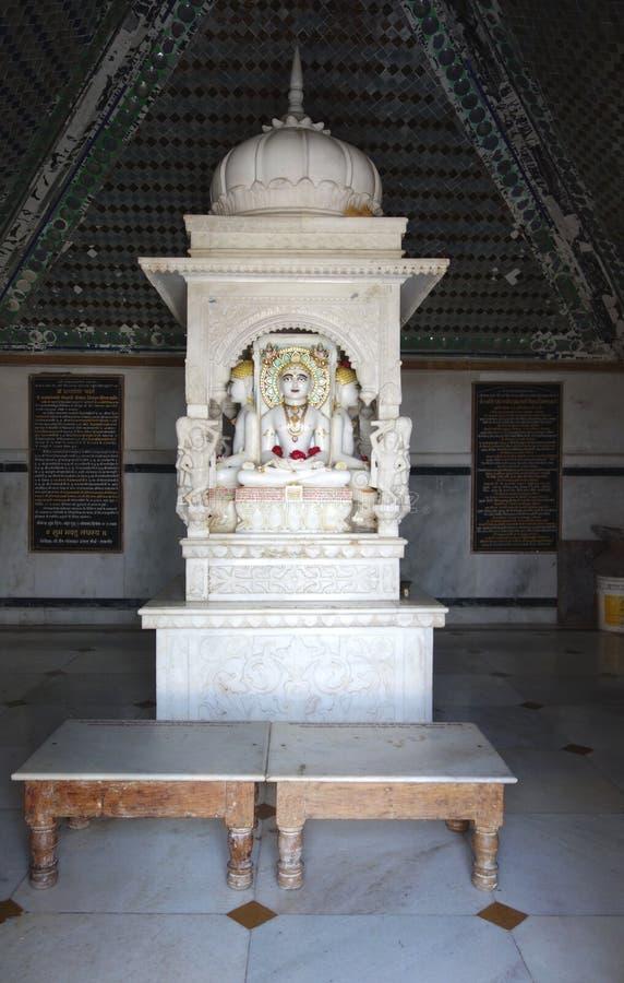 耆那教的寺庙修改 免版税库存图片