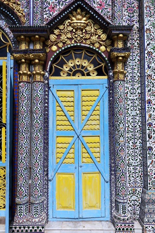 耆那教的寺庙,加尔各答 免版税图库摄影