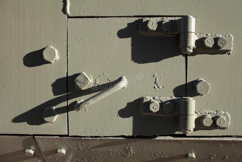 耐久的装甲的门 图库摄影