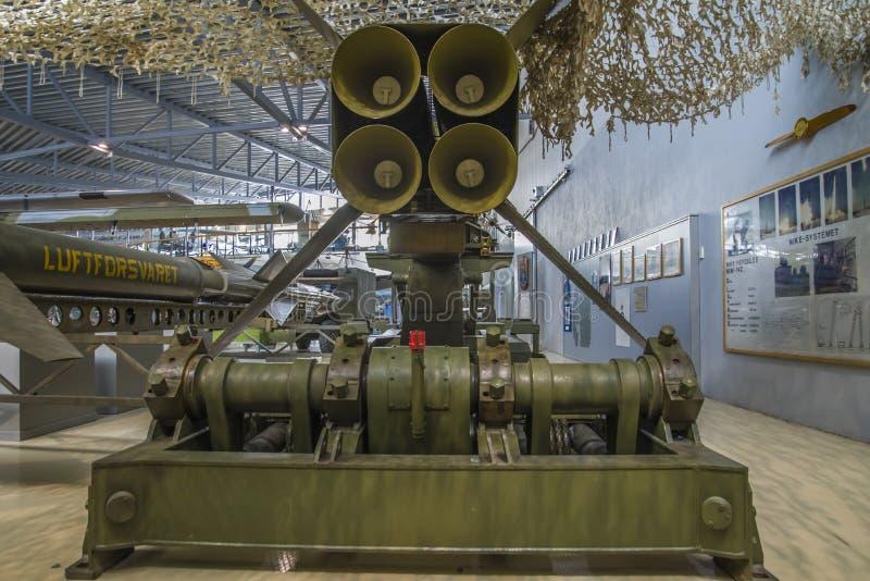耐克赫拉克勒斯,火箭 免版税库存图片