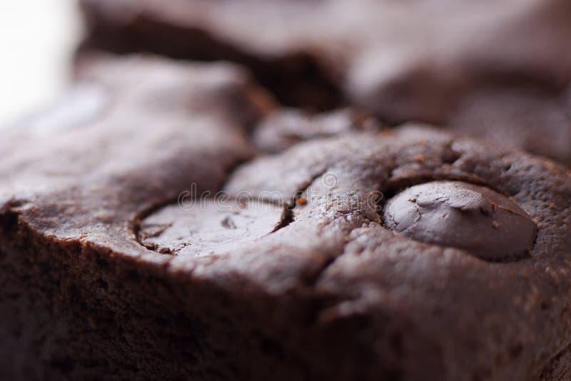 耐嚼的乳脂软糖自创果仁巧克力 免版税图库摄影