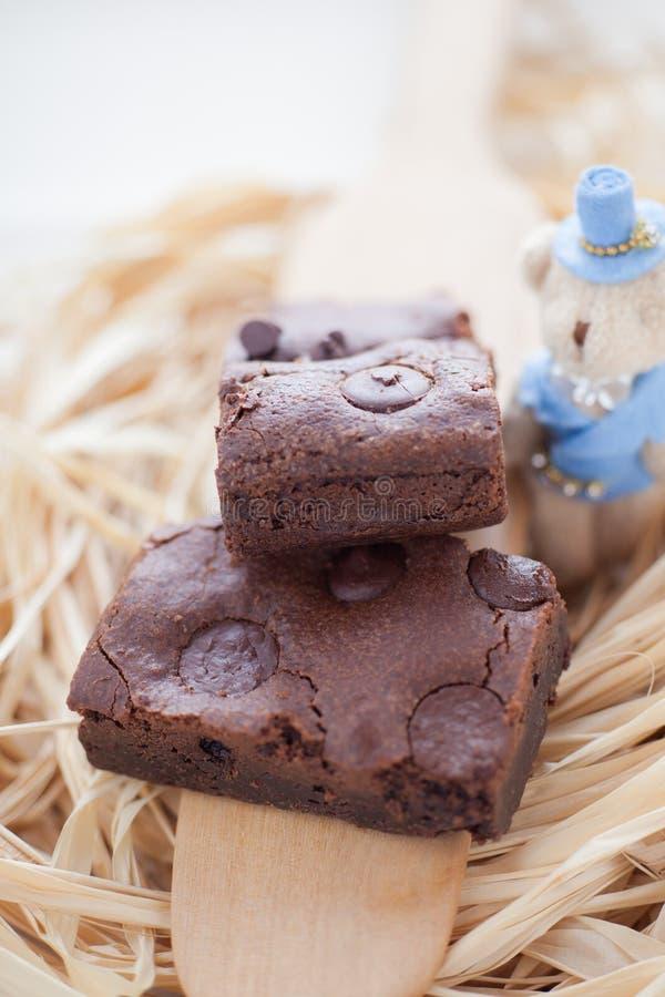 耐嚼的乳脂软糖自创果仁巧克力 图库摄影