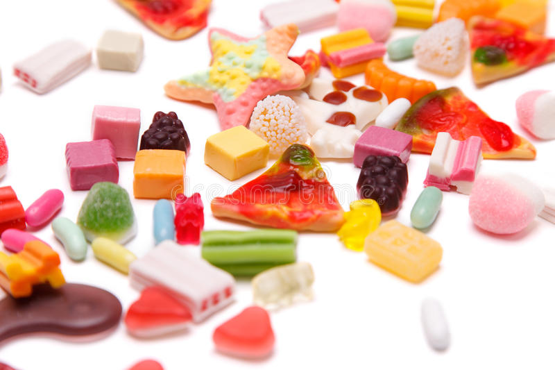 耐嚼的糖果 库存图片