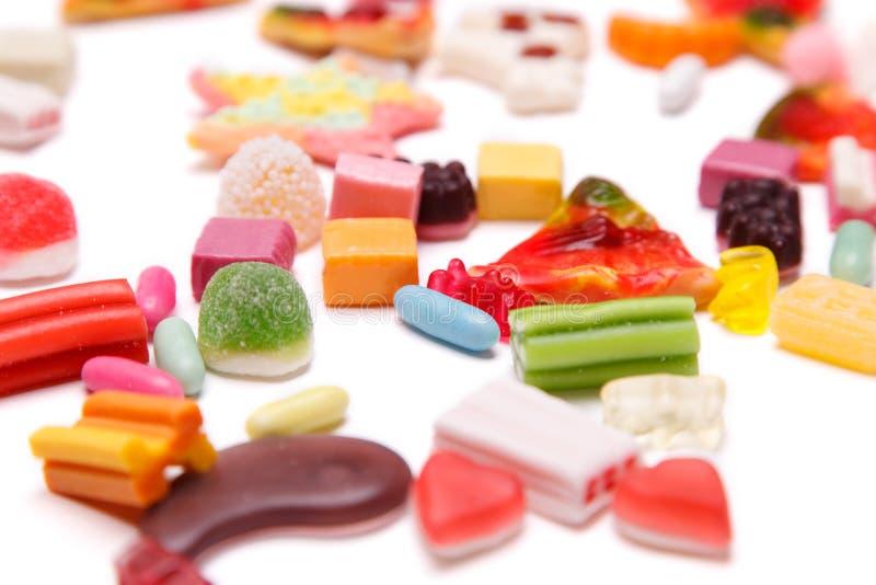 耐嚼的糖果 免版税图库摄影