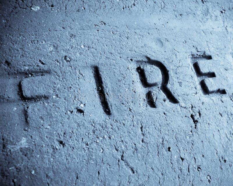 耐火的砖 免版税库存图片
