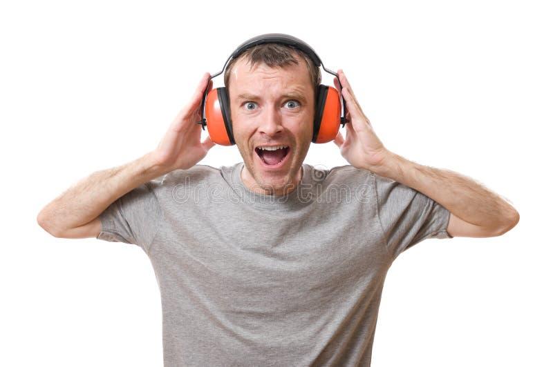 耳朵保护 免版税库存照片
