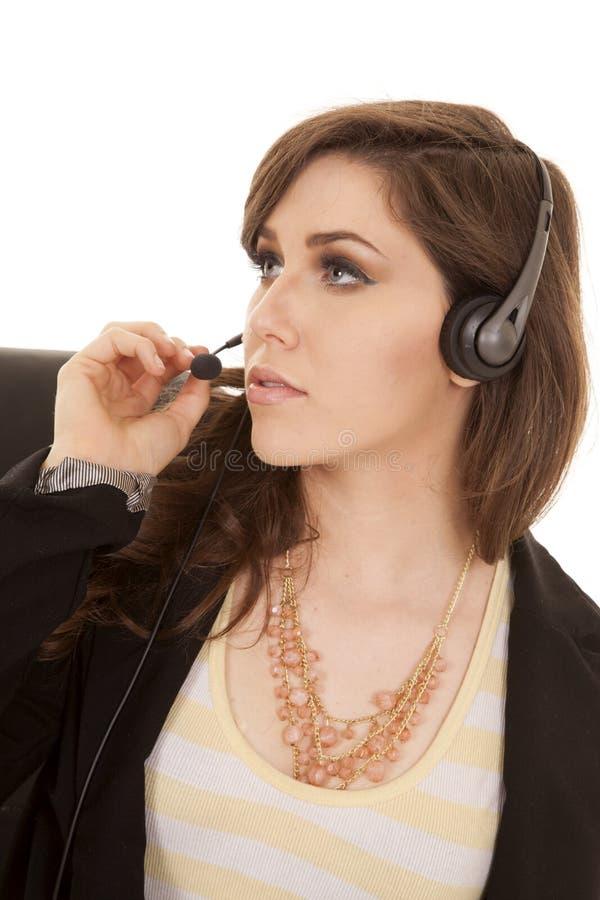 Download 耳机接近 库存图片. 图片 包括有 魅力, 耳机, 头发, 设计, 眼睛, 表面, 逗人喜爱, 女性, 长期 - 30328437